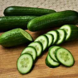 CUCUMBER - Straight Eight - Cucumis sativus