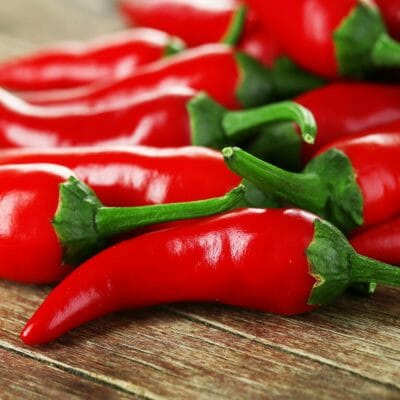 CHILLI PEPPER - Cayenne Red Hot - Capsicum annuum